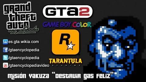 """Grand Theft Auto 2 (GBC) - Misión Yakuza """"Destruir gas feliz"""""""
