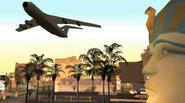 A Home in the Hills - El avión despega