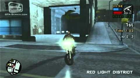 GTA Liberty City Stories - Street Race - Red Light Racing