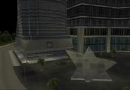 Vista de la plaza del Jefferson st. GTA III