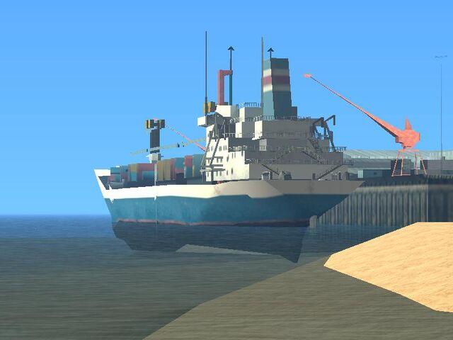 Archivo:Barco carguero de ocean Docks.jpg