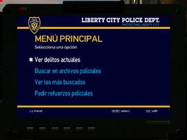 Ordenador Policia GTA4