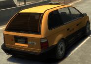 Cabby detrás GTA IV