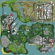 Localización Micro UZI GTA San Andreas