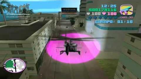 GTA Vice City - Control Del Helicoptero De Centro De La Ciudad