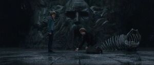Ron and Hermione in the Chamber of secret.jpg