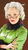 La reportera Rita Skeeter