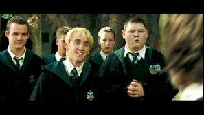 Crabbe y sus amigos Draco malfoy y Gregory Goyle.jpg