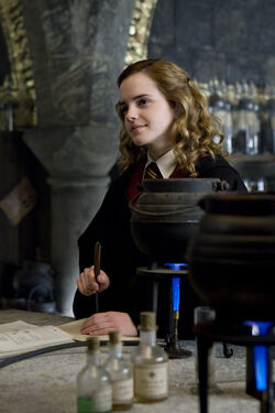 Hermione during Potion class pic2.JPG