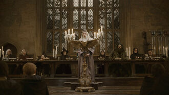 P6 Dumbledore's speech at the Great Hall in 1996.jpg