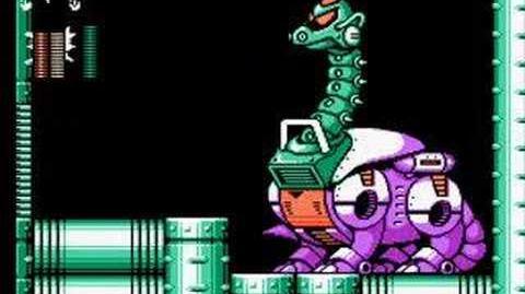 Mega Man 6 - Mechazaurus