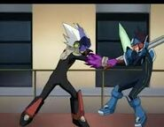 Renegado contra megaman en el anime