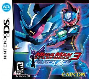 Portada de Mega Man Star Force 3 Black Ace