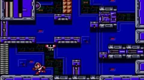 Mega Man The Wily Wars (Mega Man 2) - Wily's Fortress Stage 4