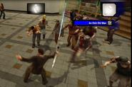 Dead rising laser sword killing zombies (13)