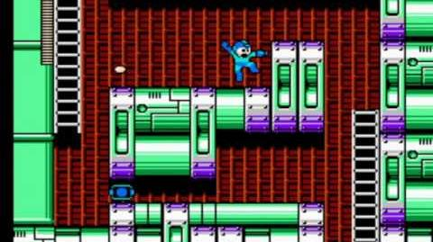 Mega Man 4 - Dr. Cossack's Fortress Stage 2