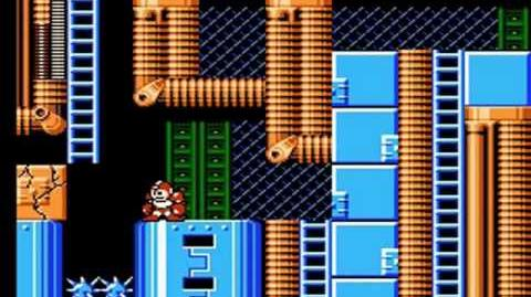 Mega Man 6 - Tomahawk Man Stage Restricted Area