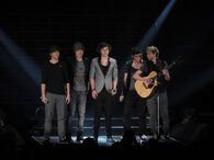 One Direction X Factor Live Glasgow 3