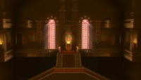 Sala de las Llamas Liga Pokémon de Kalos SSB4 Wii U