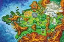 Mapa Kalos