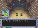 Entrada a la Cueva Cristal