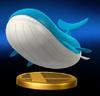 Trofeo de Wailord SSB4 Wii U