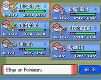 Equipo Pokémon DPPt
