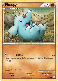 Carta de Phanpy
