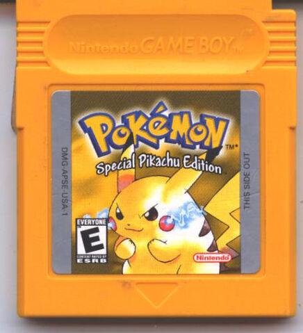 Archivo:Cartucho de Pokémon Amarillo.jpg