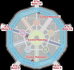 Mapa de Ciudad Luminalia