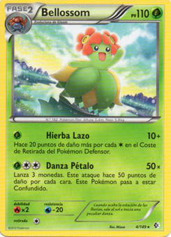 Carta de Bellossom