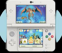Tema 3DS Pokémon mundo megamisterioso