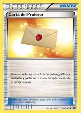 Carta del Profesor (TURBOimpulso TCG)