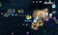 Luchando contra otros Pokémon PRW