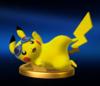 Trofeo de Pikachu (alt.) SSB4 (Wii U)