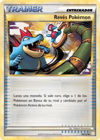 Carta Revés Pokémon