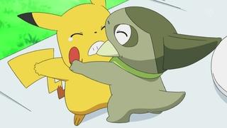 Archivo:EP668 Axew peleando con pikachu.jpg