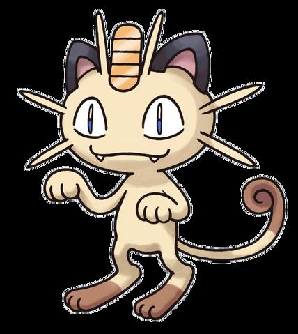 Archivo:Meowth en Pokémon Mundo Misterioso.png