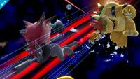 Zoroark usando golpes furia