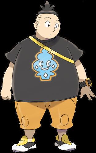 <i>Ilustración de Benigno en Pokémon X/Y</i>