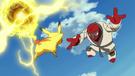 P14 Versión Blanca Pikachu VS Throh