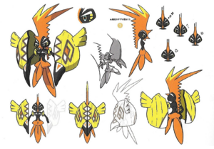 Bocetos Tapu Koko