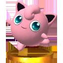 Trofeo de Jigglypuff SSB4 (3DS)