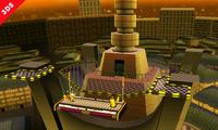 Parte superior de la Torre Prisma SSB4