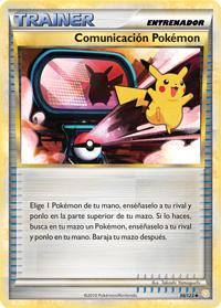 Carta Comunicación Pokémon