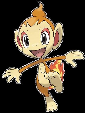 Archivo:Chimchar en Pokémon Platino.png