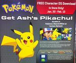 Pikachu ash