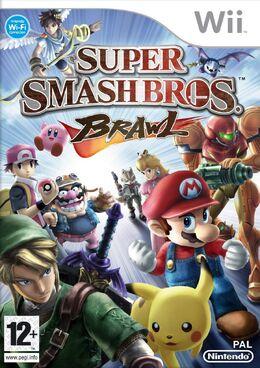 Carátula de Super Smash Bros. Brawl