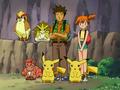 EE01 Brock Misty y Pikachu Vulpix Sandslash Pidgeot clones.png