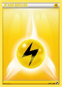 Carta de la energía rayo